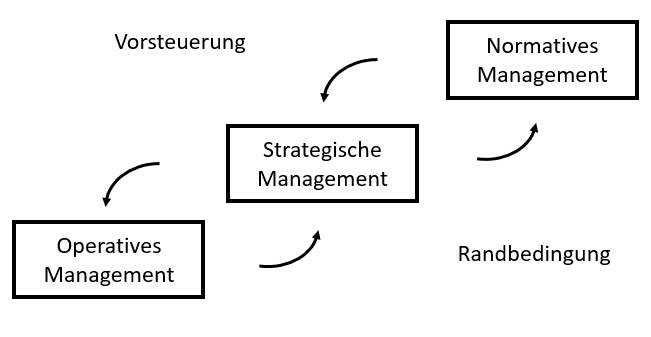 Vorsteuerung im Management